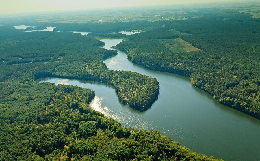 Jezioro Mieliwo (fot. Kacper Dondziak)